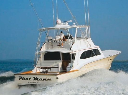 Paul Mann Boat Named One Of Top 50 Sportfishing Boats Of All Time