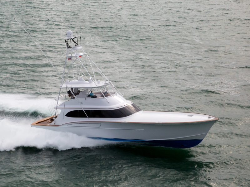 Full Time 77′ | Hull 139 – Paul Mann Custom Boats
