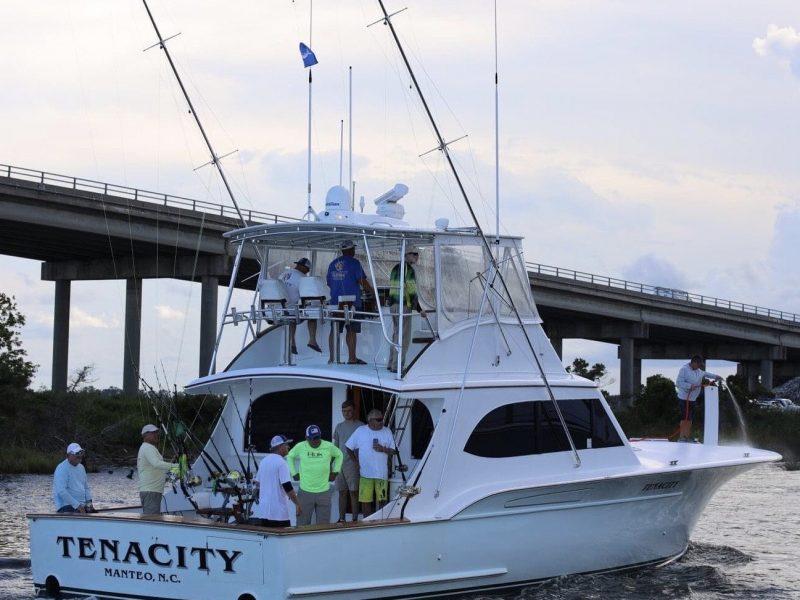 Tenacity 56-foot Paul Mann Custom Boat