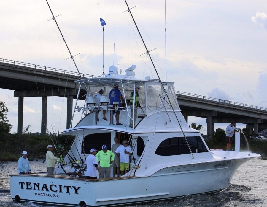 Tenacity 56-foot Paul Mann Custom Boat