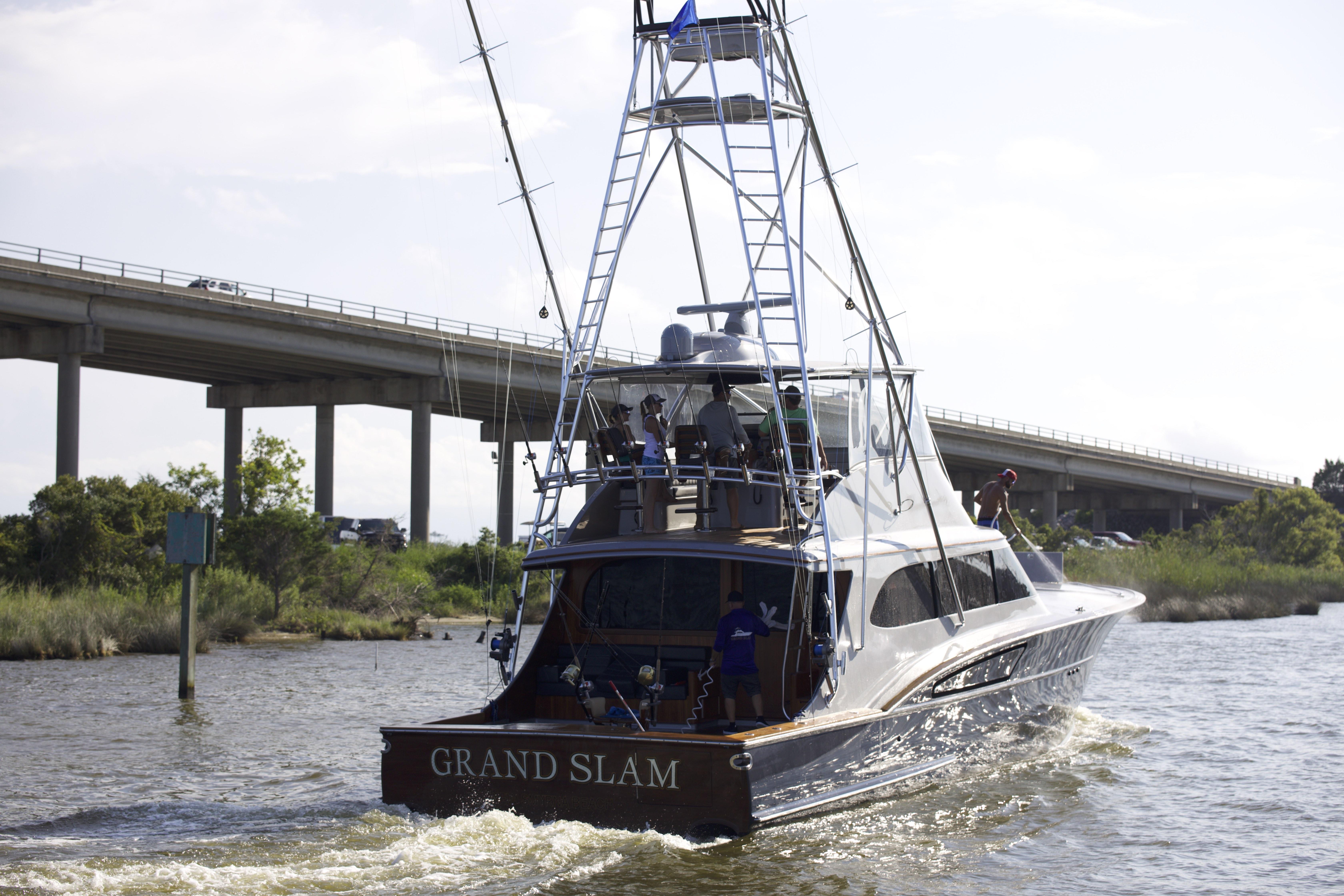 61-foot Grand Slam Paul Mann Custom Boat