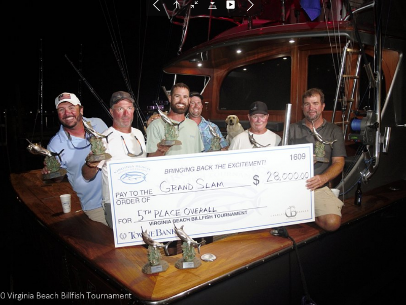 61-foot Grand Slam at 2020 Virginia Beach Billfish Tournament