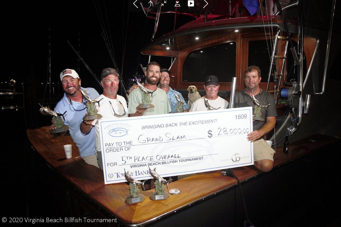61-foot Grand Slam at 2020 Virginia Beach Billfish Tournament