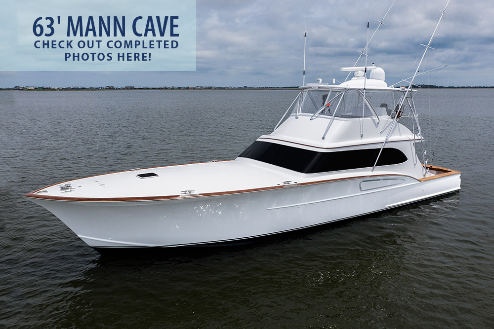 63-foot Mann Cave Paul Mann Custom Boat