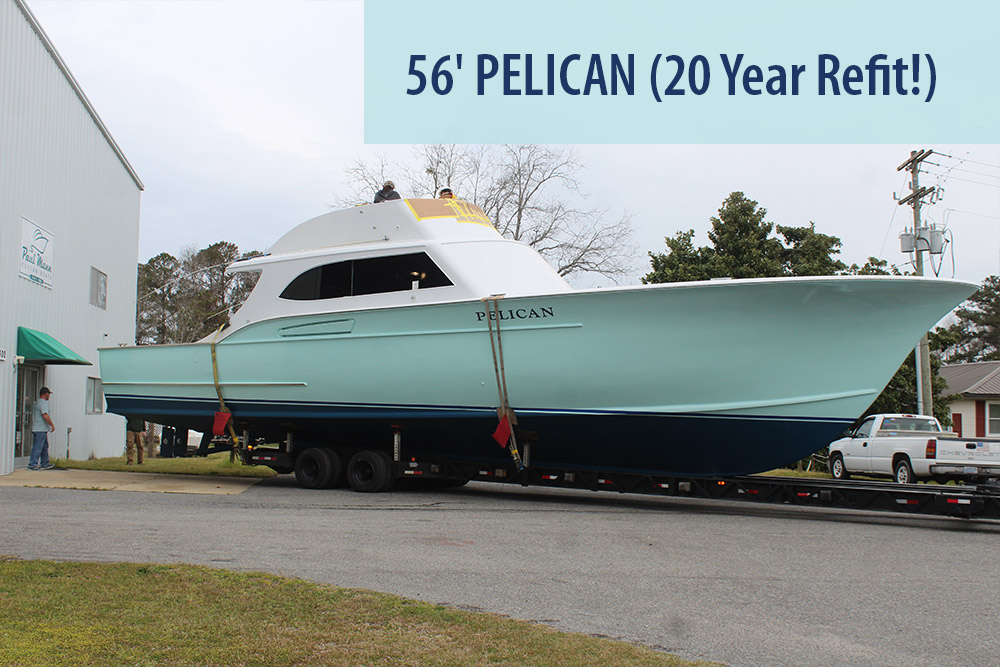 56-foot Pelican Paul Mann Custom Boat
